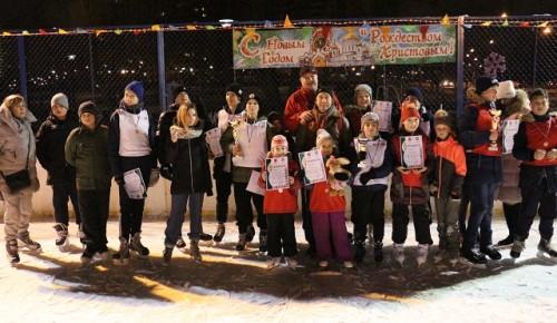 Семейные рождественские старты прошли в Черемушках
