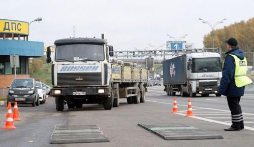 Правила проезда грузовиков изменятся на территории Черемушек