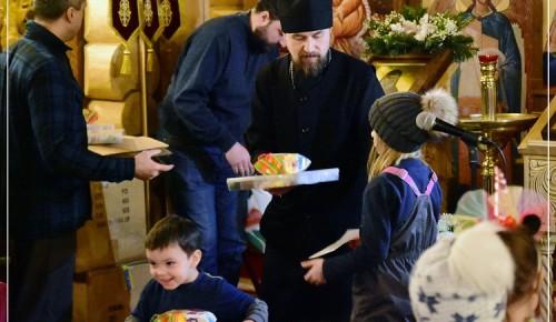 В храме Святой равноапостольной Нины прошел Рождественский праздник