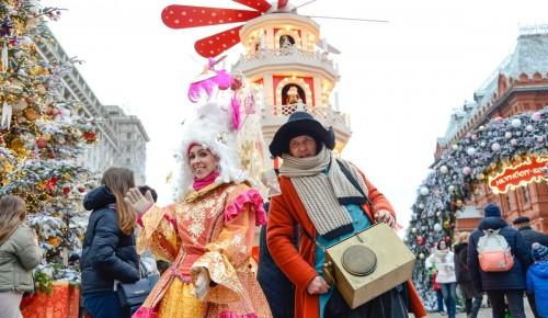 В столице проходит фестиваль «Путешествие в Рождество»