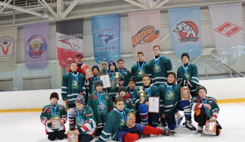 Команды хоккеистов из Черемушек отличились на окружных соревнованиях
