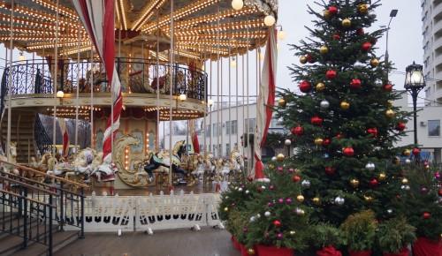 До конца января будет работать фестивальная площадка «Путешествие в Рождество» в Черемушках