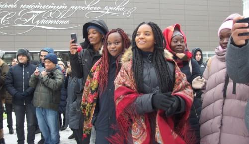 В институте имени Пушкина представители более 30 стран отметили День студента