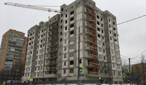 По программе реновации в Черемушках в этом году введут в эксплуатацию жилой дом на 90 квартир