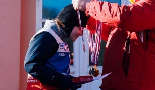 Соревнования по зимним видам спорта для детей устроят в Воронцовском парке