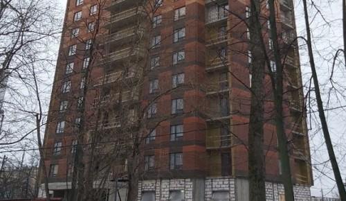 По программе реновации в Черемушках строятся три дома
