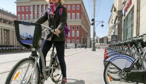 В столице с сегодняшнего дня заработают все пункты велопроката
