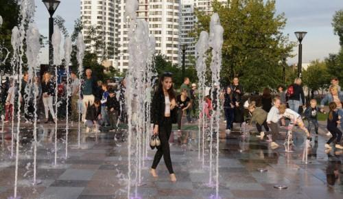 В Черемушках в новом сезоне будут работать пять фонтанов