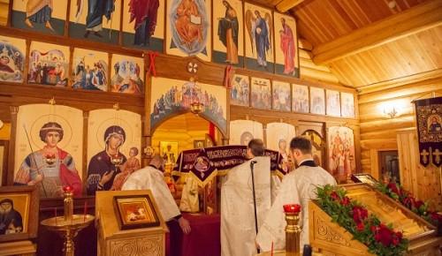 В Черемушках прошло торжественное Богослужение