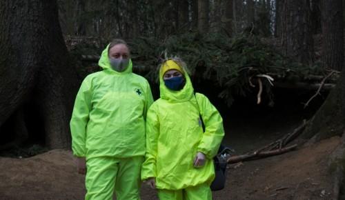 В лесах ЮЗАО провели весеннюю вакцинацию лис