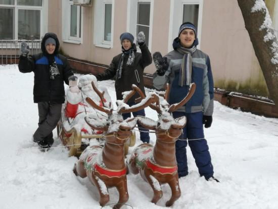 В центре «Юнона» прошли новогодние праздники