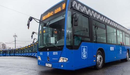 Маршрут автобуса П1 будет курсировать от станции «Калужская» до станции «Беляево»
