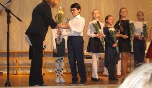 Ученица Дворца пионеров вошла в число лауреатов городского конкурса чтецов
