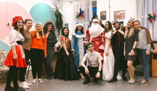 Волонтеры Губкинского университета посетили социально-реабилитационной центр