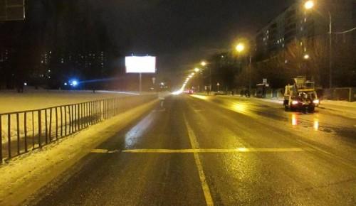 На Проспекте Вернадского восстановили неисправное освещение на проезжей части
