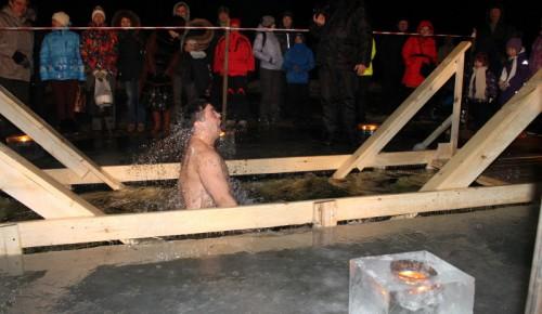 Для крещенских купаний в столице оборудуют около 60 площадок