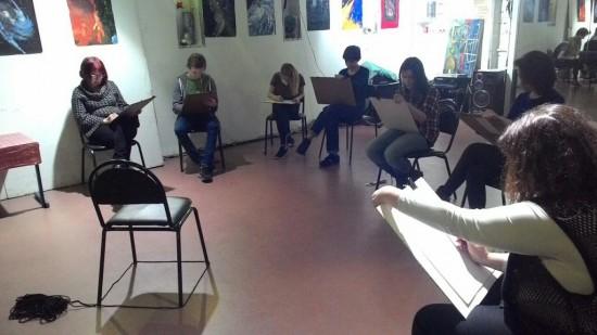 В клубе им. Джерри Рубина состоится бесплатный урок по рисованию для взрослых