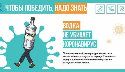Медики утверждают, что алкоголь не может победить коронавирус