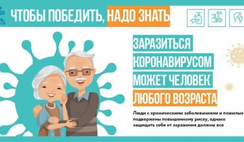 Человек может заразиться коронавирусом в любом возрасте