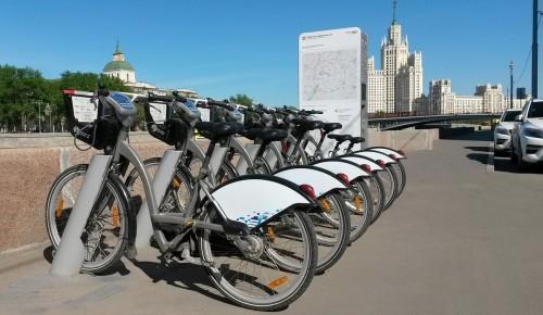 В Москве открылись все пункты велопроката