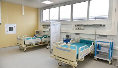 В Москве пациентов с коронавирусом принимают уже 42 стационара