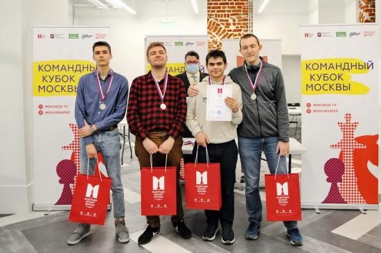Воспитанники шахматной школы им М.М. Ботвинника стали бронзовыми призёрами командного чемпионата столицы