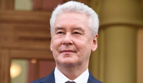 Собянин призвал москвичей не участвовать в массовых акциях в условиях ковида