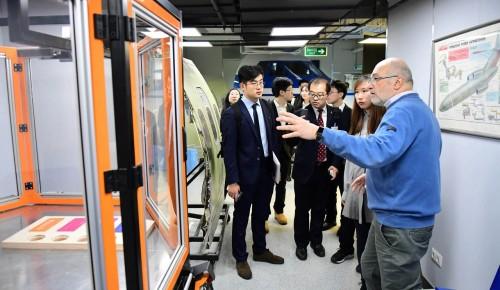 Делегация из передового университета Китая посетила МФЮА