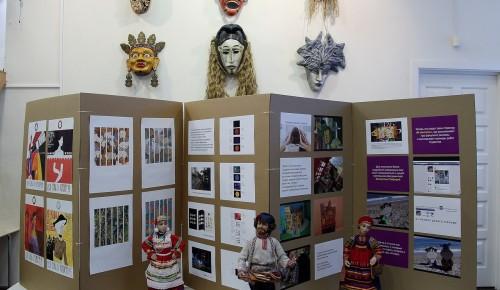 В «Изопарке» работает выставка студентов Театрального художественно-технического колледжа