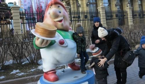 В ЮЗАО работают площадки фестиваля «Московская Масленица»