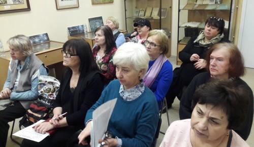 Глава управы обсудил с общественными советниками подготовку к празднованию 75-летия Победы