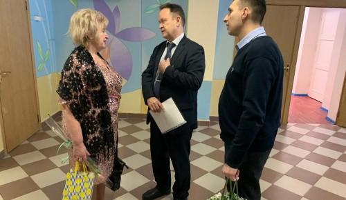 Управа поздравила Совет ветеранов педагогического труда школы №49