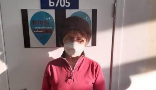 Галина Гарцева призывает жителей Конькова сделать прививку от коронавируса