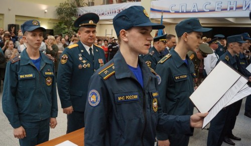 Сотни первокурсников колледжа имени В. М. Максимчука дали торжественное обещание