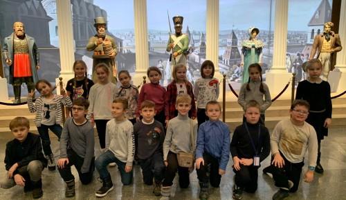 Школьники Котловки ознакомились с музеем-панорамой «Бородинская битва»