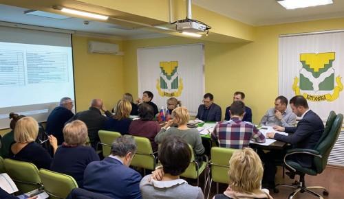Взаимодействие с ОПОП стало темой оперативного совещания в управе