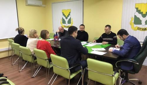 Глава управы провёл два совещания, где обсуждались вопросы ЖКХ