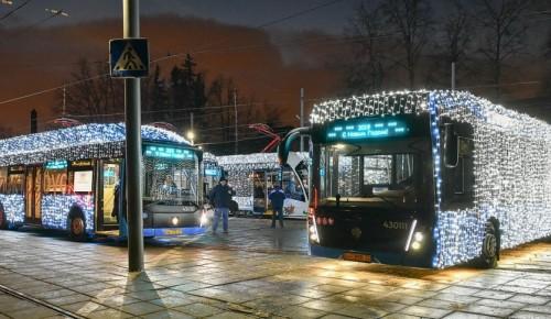 ГИБДД аннулировала штрафы за подсветку электробусов в Москве