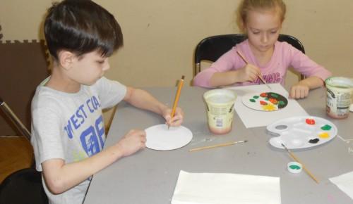 Социально-творческий проект для ребят стартовал в галерее «Нагорная»