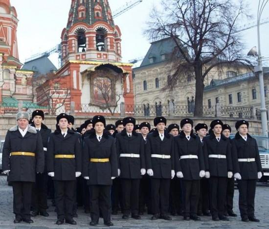 Воспитанники Второго Московского кадетского корпуса (МЧС) дали клятву кадета