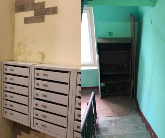 Управа выявила неполадки в доме на Нахимовском проспекте