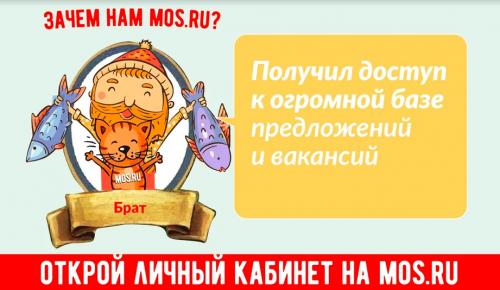 Свыше 22 миллионов человек составляют ежемесячную аудиторию сайта mos.ru