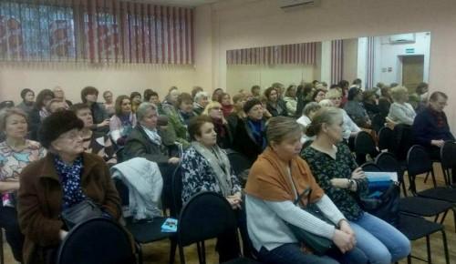 Котловчанам рассказали о возможностях социальной поддержки москвичей