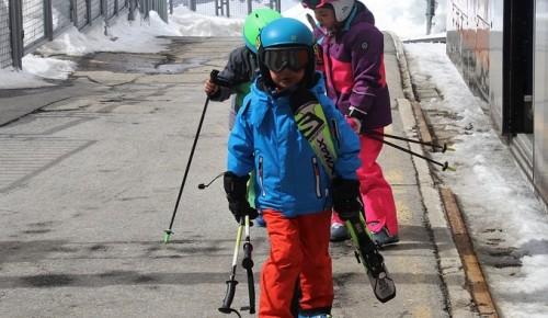 Лыжный сезон в Котловке официально завершился