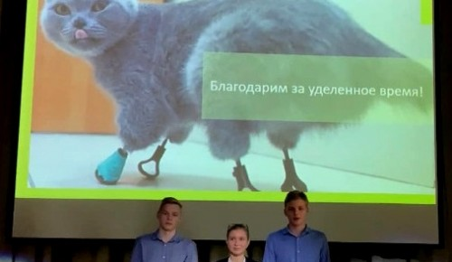 Проект «Юго-Запада», связанный с протезированием животных, победил на конкурсе юных техников
