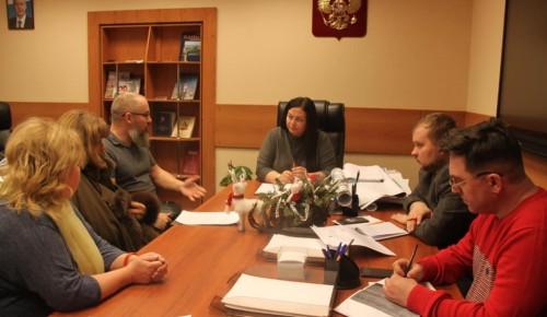 Глава управы Ксения Кравцова провела личный прием жителей Ломоносовского района