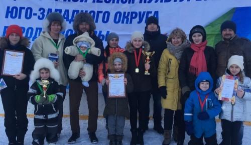 Ломоносовцы стали победителями на окружных соревнованиях