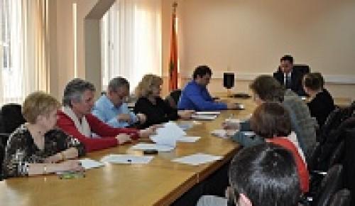 В управе района прошло заседание комиссии по вопросу проведения капитального ремонта в МКД