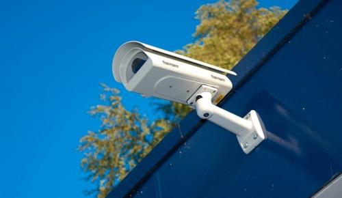 Сергей Собянин отметил, что видеонаблюдение используется при расследовании 70% преступлений