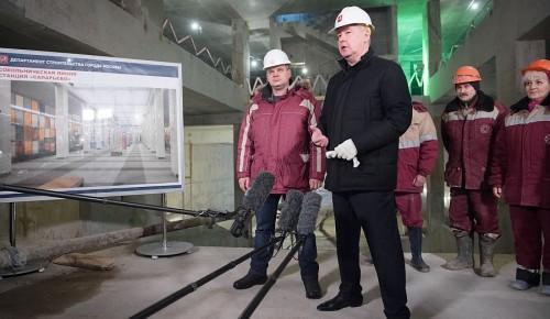 Строительство новых станций Сокольнической линии метро планируют закончить в 2015 - Сергей Собянин